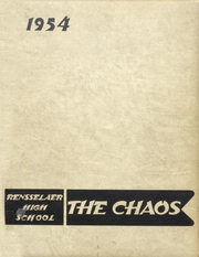 Page 1, 1954 Edition, Rensselaer High School - Chaos Yearbook (Rensselaer, IN) online yearbook collection
