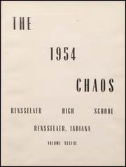 Page 5, 1954 Edition, Rensselaer High School - Chaos Yearbook (Rensselaer, IN) online yearbook collection