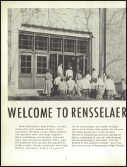 Page 6, 1956 Edition, Rensselaer High School - Chaos Yearbook (Rensselaer, IN) online yearbook collection