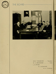 Page 8, 1936 Edition, Shawnee High School - Quilna Yearbook (Lima, OH) online yearbook collection