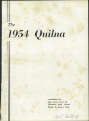 Page 5, 1954 Edition, Shawnee High School - Quilna Yearbook (Lima, OH) online yearbook collection