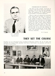 Page 14, 1961 Edition, Shawnee High School - Quilna Yearbook (Lima, OH) online yearbook collection