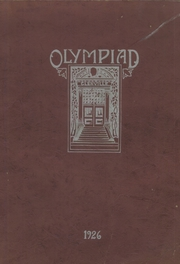 Page 1, 1926 Edition, Glenville High School - Olympiad Yearbook (Cleveland, OH) online yearbook collection