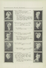 Page 11, 1926 Edition, Glenville High School - Olympiad Yearbook (Cleveland, OH) online yearbook collection