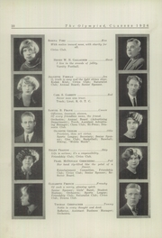 Page 12, 1926 Edition, Glenville High School - Olympiad Yearbook (Cleveland, OH) online yearbook collection