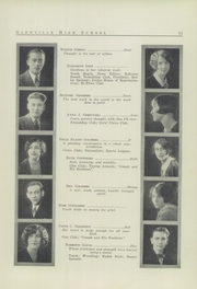 Page 13, 1926 Edition, Glenville High School - Olympiad Yearbook (Cleveland, OH) online yearbook collection