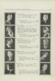 Page 15, 1926 Edition, Glenville High School - Olympiad Yearbook (Cleveland, OH) online yearbook collection