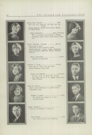 Page 16, 1926 Edition, Glenville High School - Olympiad Yearbook (Cleveland, OH) online yearbook collection