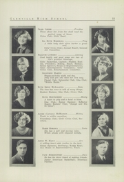Page 17, 1926 Edition, Glenville High School - Olympiad Yearbook (Cleveland, OH) online yearbook collection