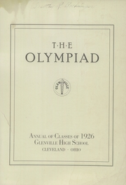 Page 3, 1926 Edition, Glenville High School - Olympiad Yearbook (Cleveland, OH) online yearbook collection