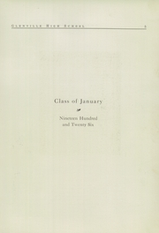 Page 7, 1926 Edition, Glenville High School - Olympiad Yearbook (Cleveland, OH) online yearbook collection