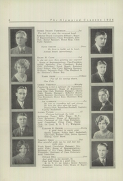 Page 8, 1926 Edition, Glenville High School - Olympiad Yearbook (Cleveland, OH) online yearbook collection