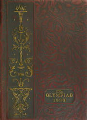 1930 Edition, Glenville High School - Olympiad Yearbook (Cleveland, OH)