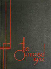 1932 Edition, Glenville High School - Olympiad Yearbook (Cleveland, OH)
