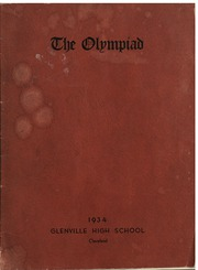 1934 Edition, Glenville High School - Olympiad Yearbook (Cleveland, OH)