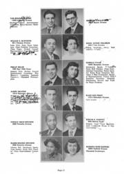 Page 15, 1951 Edition, Glenville High School - Olympiad Yearbook (Cleveland, OH) online yearbook collection