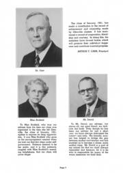 Page 5, 1951 Edition, Glenville High School - Olympiad Yearbook (Cleveland, OH) online yearbook collection