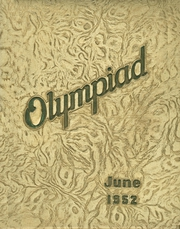 1952 Edition, Glenville High School - Olympiad Yearbook (Cleveland, OH)