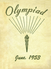 1953 Edition, Glenville High School - Olympiad Yearbook (Cleveland, OH)
