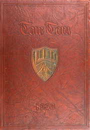 Central High School - Tom Tom Yearbook (Tulsa, OK) online yearbook collection, 1930 Edition, Page 1