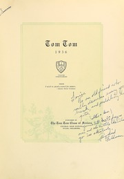 Page 11, 1936 Edition, Central High School - Tom Tom Yearbook (Tulsa, OK) online yearbook collection