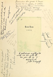 Page 9, 1936 Edition, Central High School - Tom Tom Yearbook (Tulsa, OK) online yearbook collection