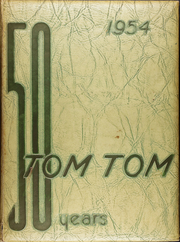 Page 1, 1954 Edition, Central High School - Tom Tom Yearbook (Tulsa, OK) online yearbook collection