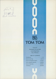 Page 5, 1965 Edition, Central High School - Tom Tom Yearbook (Tulsa, OK) online yearbook collection