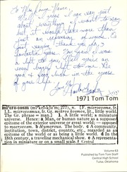 Page 5, 1971 Edition, Central High School - Tom Tom Yearbook (Tulsa, OK) online yearbook collection