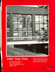Page 5, 1987 Edition, Central High School - Tom Tom Yearbook (Tulsa, OK) online yearbook collection