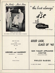 Page 208, 1948 Edition, Arizona State University - Sun Devil Spark Sahuaro Yearbook (Tempe, AZ) online yearbook collection