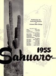 Page 5, 1955 Edition, Arizona State University - Sun Devil Spark Sahuaro Yearbook (Tempe, AZ) online yearbook collection