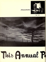 Page 8, 1955 Edition, Arizona State University - Sun Devil Spark Sahuaro Yearbook (Tempe, AZ) online yearbook collection