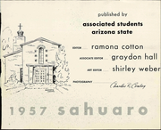 Page 7, 1957 Edition, Arizona State University - Sun Devil Spark Sahuaro Yearbook (Tempe, AZ) online yearbook collection