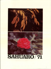 Page 3, 1971 Edition, Arizona State University - Sun Devil Spark Sahuaro Yearbook (Tempe, AZ) online yearbook collection