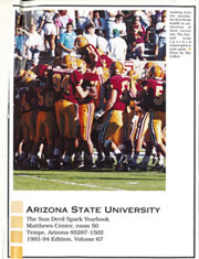 Page 3, 1994 Edition, Arizona State University - Sun Devil Spark Sahuaro Yearbook (Tempe, AZ) online yearbook collection