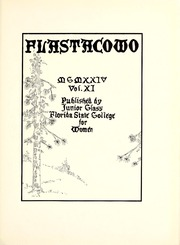 Page 7, 1924 Edition, Florida State University - Renegade / Tally Ho Yearbook (Tallahassee, FL) online yearbook collection