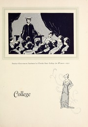 Page 13, 1930 Edition, Florida State University - Renegade / Tally Ho Yearbook (Tallahassee, FL) online yearbook collection