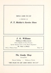 Page 225, 1930 Edition, Florida State University - Renegade / Tally Ho Yearbook (Tallahassee, FL) online yearbook collection