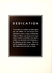 Page 10, 1938 Edition, Florida State University - Renegade / Tally Ho Yearbook (Tallahassee, FL) online yearbook collection