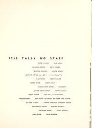 Page 5, 1958 Edition, Florida State University - Renegade / Tally Ho Yearbook (Tallahassee, FL) online yearbook collection