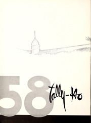 Page 6, 1958 Edition, Florida State University - Renegade / Tally Ho Yearbook (Tallahassee, FL) online yearbook collection