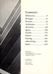 Page 11, 1960 Edition, Florida State University - Renegade / Tally Ho Yearbook (Tallahassee, FL) online yearbook collection