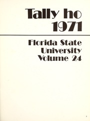 Page 5, 1971 Edition, Florida State University - Renegade / Tally Ho Yearbook (Tallahassee, FL) online yearbook collection