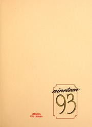 Page 3, 1993 Edition, Florida State University - Renegade / Tally Ho Yearbook (Tallahassee, FL) online yearbook collection