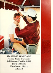Page 5, 1993 Edition, Florida State University - Renegade / Tally Ho Yearbook (Tallahassee, FL) online yearbook collection