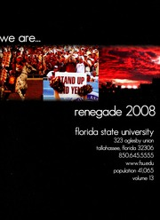 Page 5, 2008 Edition, Florida State University - Renegade / Tally Ho Yearbook (Tallahassee, FL) online yearbook collection