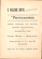 Page 4, 1892 Edition, Phillips Exeter Academy - PEAN Yearbook (Exeter, NH) online yearbook collection