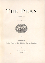 Page 5, 1892 Edition, Phillips Exeter Academy - PEAN Yearbook (Exeter, NH) online yearbook collection