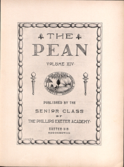 Page 6, 1898 Edition, Phillips Exeter Academy - PEAN Yearbook (Exeter, NH) online yearbook collection
